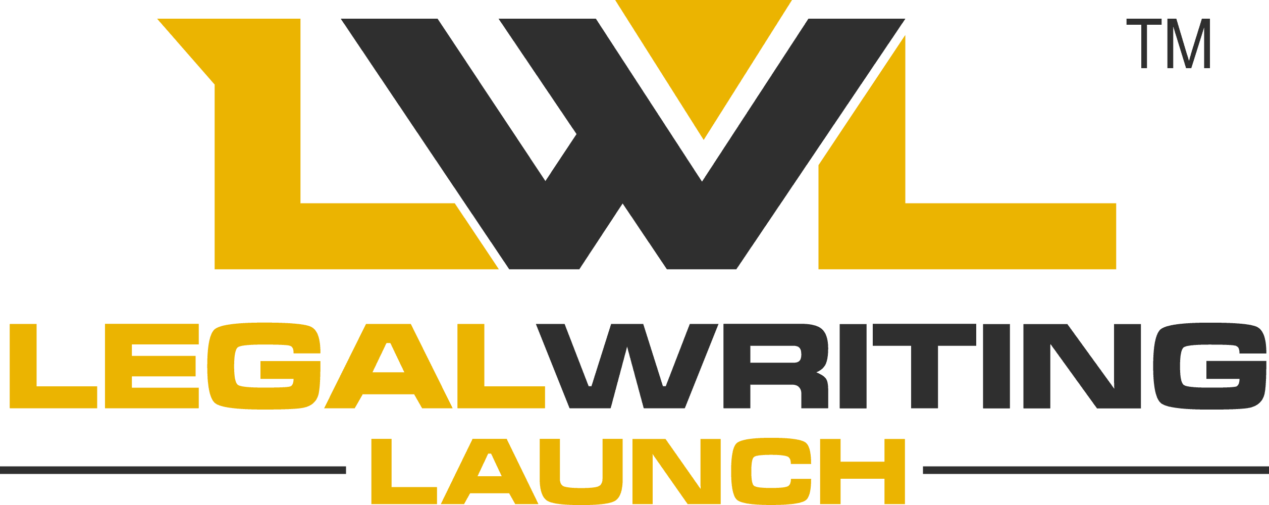 Legal Writing Launch Logo with Trademark