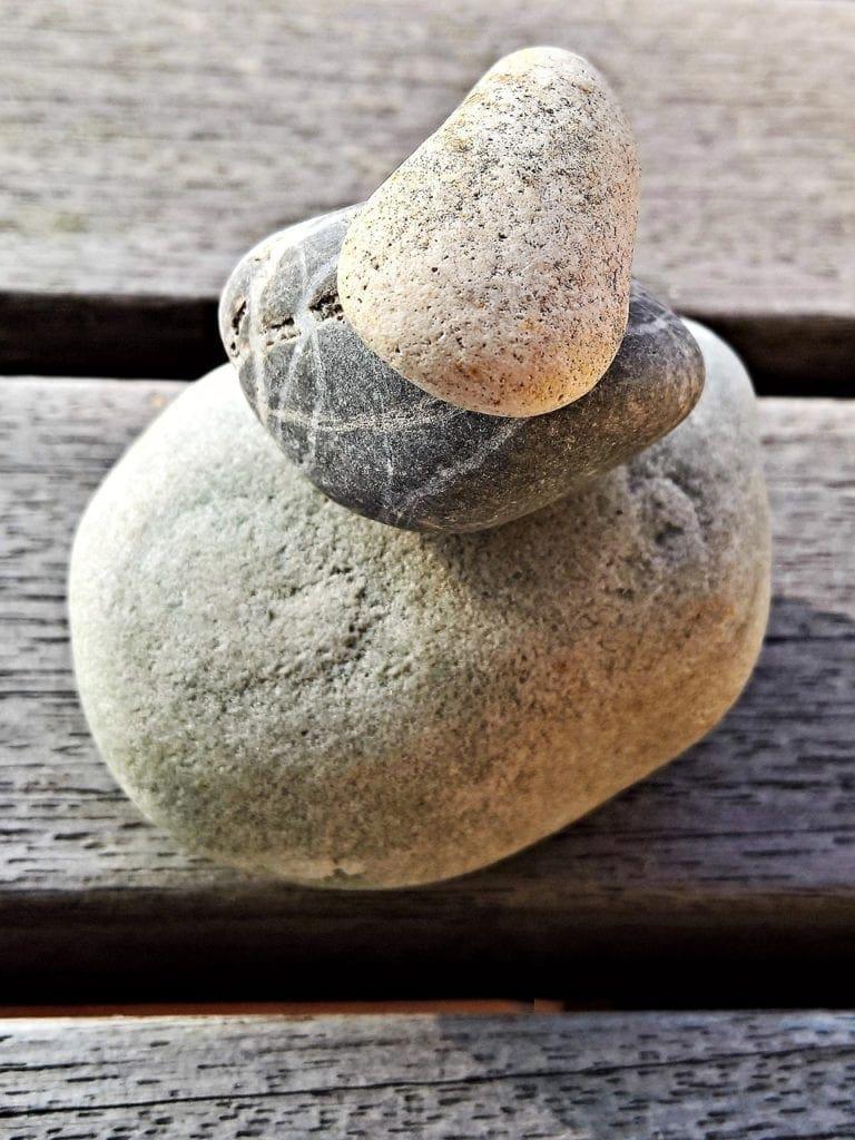 stones, pebble, stack